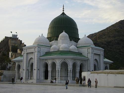 Mazar Sharif - Darbar e Alia Ghamkol Sharif Hazrat Khwaja Zinda Pir Sahib (RA) - Outside view